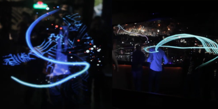 heineken interactive light stroke