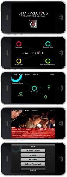 Semi-Precious app