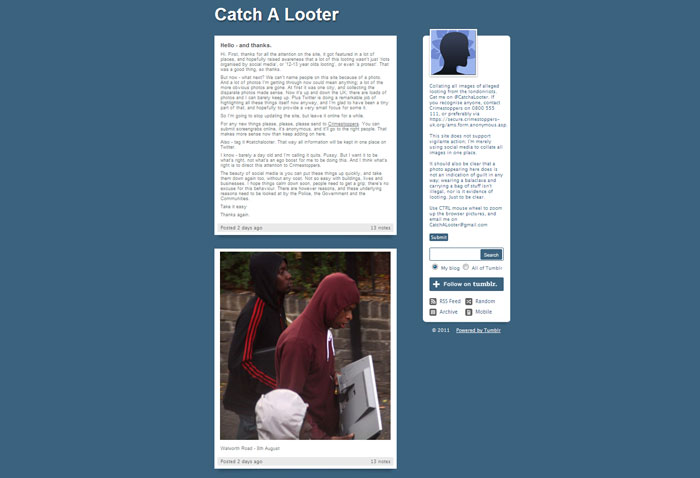 Catch a looter